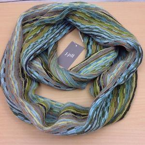 J.Jill Balsam Multi Striped Knit Infinity Scarf